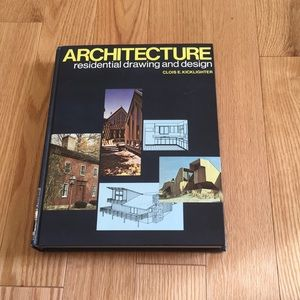 Architecture residential drawling and design book